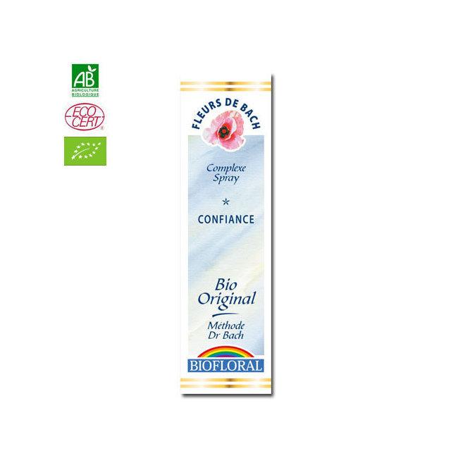 Confiance - Complexe n°6 Fleurs de Bach bio Spray 20ml