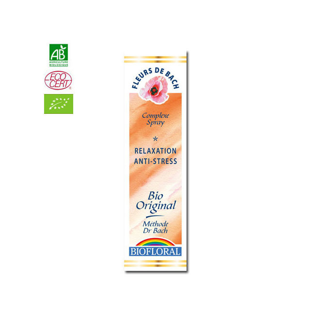 Clairenature Relaxation - Complexe n°9 Fleurs de Bach bio Spray 20ml