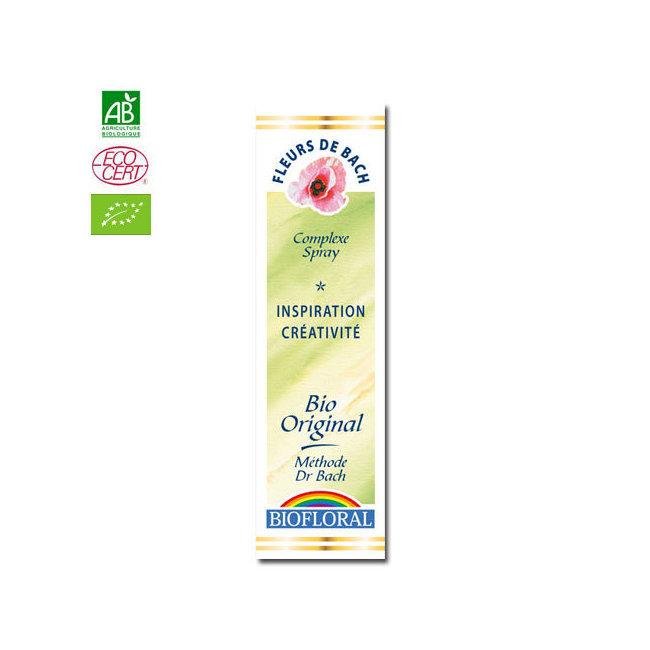 Santé et bien-être Inspiration - Complexe n°12 Fleurs de Bach bio Spray 20ml