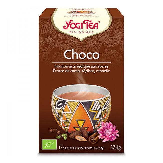 Clairenature Yogi Tea Choco bio 17 sachets