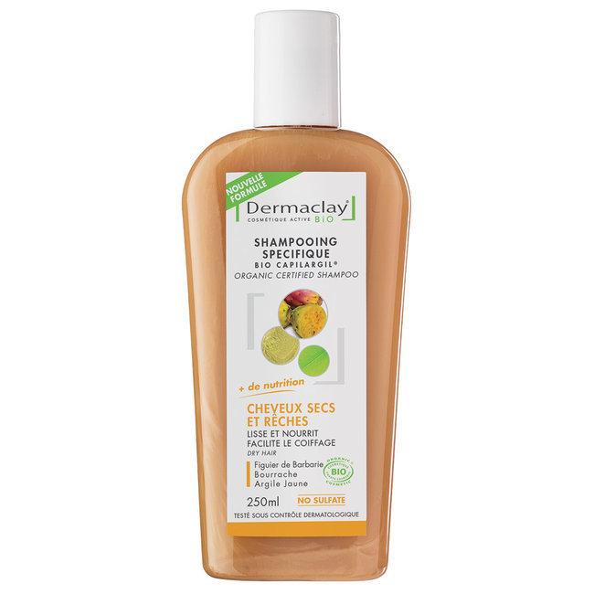 Souvent Bio Capilargil Shampoing traitant cheveux secs Dermaclay WX35