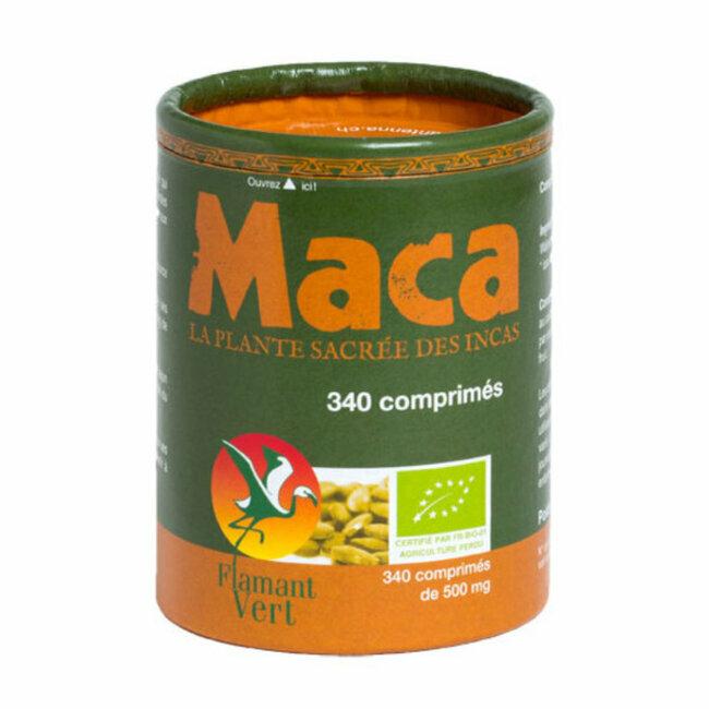 Clairenature Maca bio 500mg 340 comprimés
