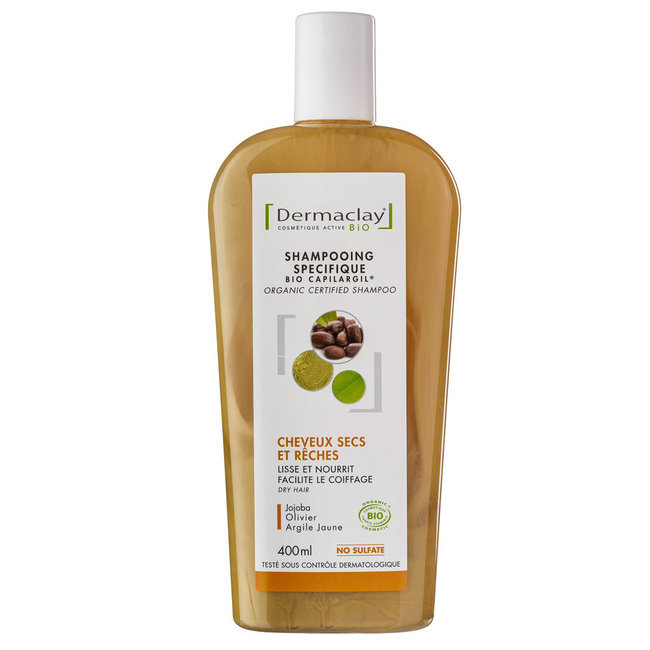 bio capilargil shampoing traitant cheveux secs argile jaune dermaclay. Black Bedroom Furniture Sets. Home Design Ideas
