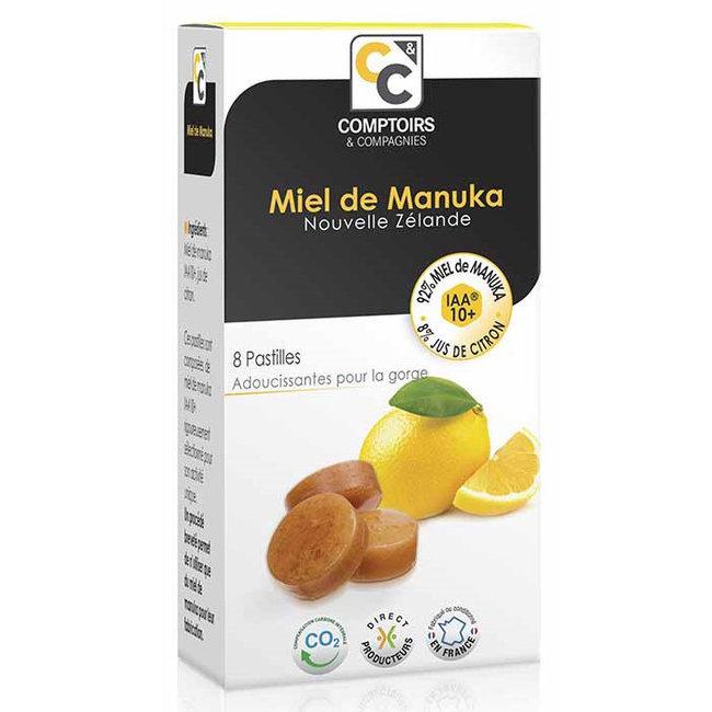 Pastilles miel de manuka et citron comptoirs et compagnies - Miel de manuka comptoir et compagnie ...