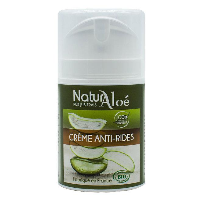 cr me anti rides aloe vera bio naturaloe peaux matures. Black Bedroom Furniture Sets. Home Design Ideas