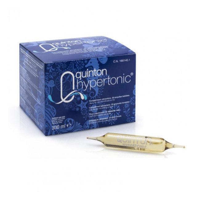 Clairenature Quinton Hypertonic - 30 ampoules buvables