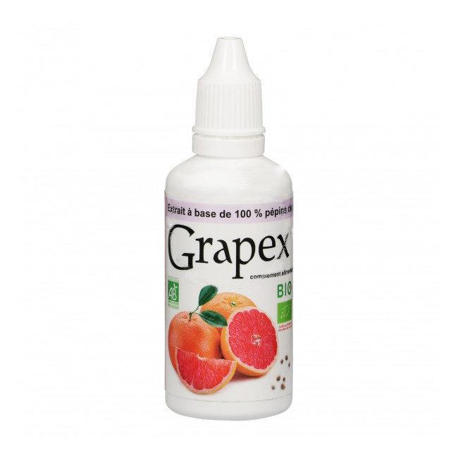 Clairenature Grapex 78% Extrait de pépins de pamplemousse bio 50ml