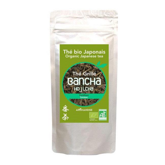 Clairenature Thé vert bio grillé Hojicha Bancha 60g