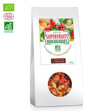 Mix Superfruits bio Goji, cranberries, mulberries 125g