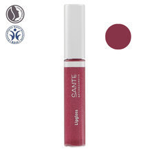 Gloss à lèvres bio n°04 Red pink 8ml