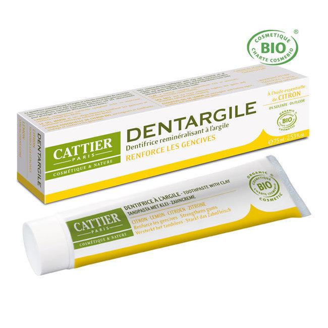 dentargile citron cattier dentifrice bio pour renforcer les gencives. Black Bedroom Furniture Sets. Home Design Ideas