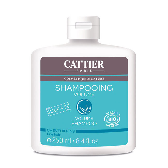 shampoing cattier volume bio pour cheveux fins. Black Bedroom Furniture Sets. Home Design Ideas