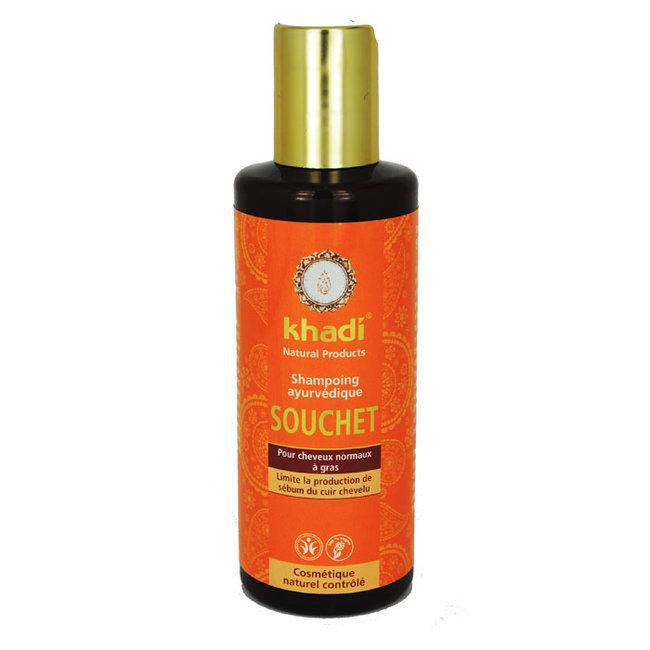 shampoing khadi ayurv dique souchet cheveux gras. Black Bedroom Furniture Sets. Home Design Ideas