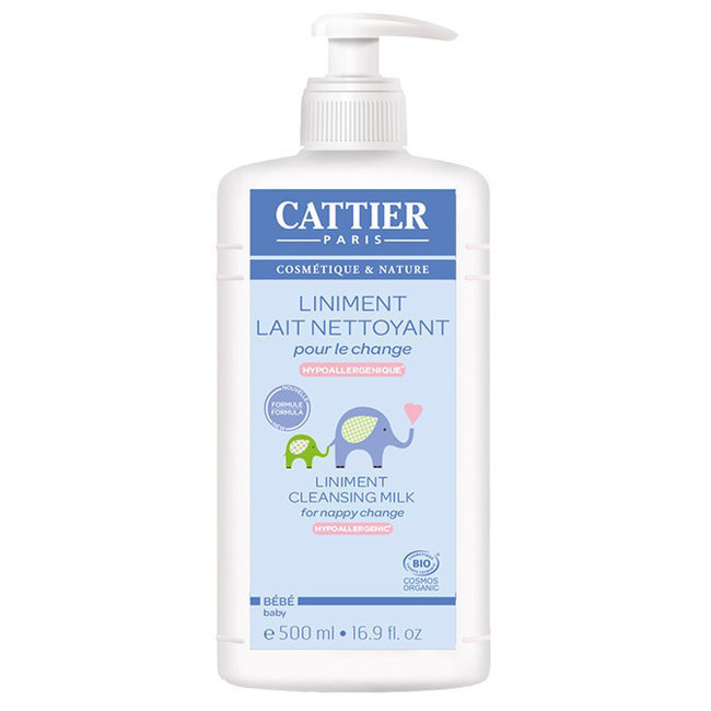 liniment cattier bio b b 500ml lait nettoyant pour le change. Black Bedroom Furniture Sets. Home Design Ideas