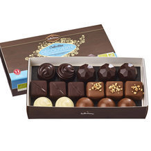 Assortiment 16 Chocolats bio Collection Découverte - Ballotin 140g
