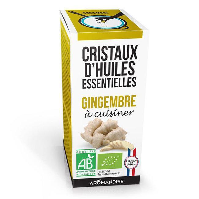 Cristaux huiles essentielles gingembre bio pour la cuisine - Huile essentielle cuisine ...