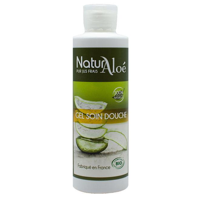Gel douche soin bio à l'Aloe vera 200ml
