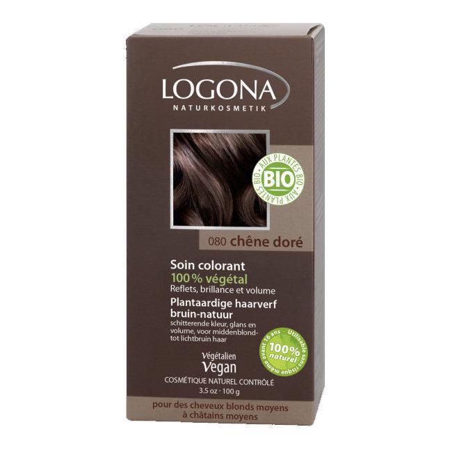 Coloration vegetale pour cheveux blonds