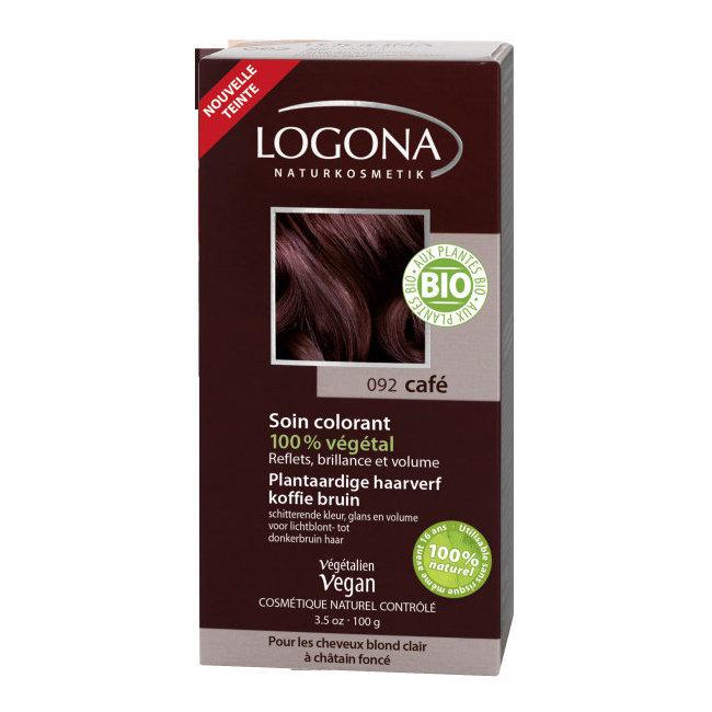 Logona Café Coloration Végétale Pour Cheveux Blonds à Châtains
