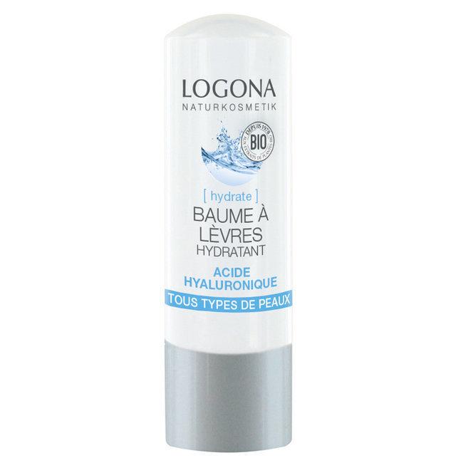 323f4de7e8d Baume à lèvres Hydratant Acide hyaluronique Logona - Clairenature.com