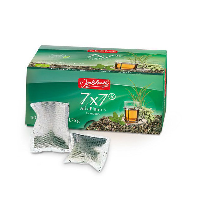 7x7 AlcaPlantes - Tisane détoxifiante bio - 50 sachets