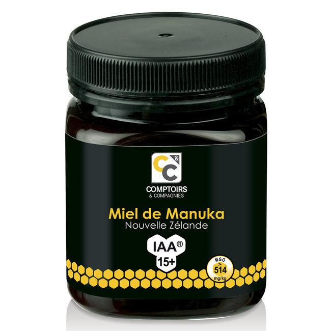 miel de manuka indice 15