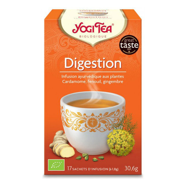 Yogi Tea Digestion bio 17 sachets