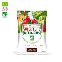 Mix Superfruits bio Goji, cranberries, mulberries 30g