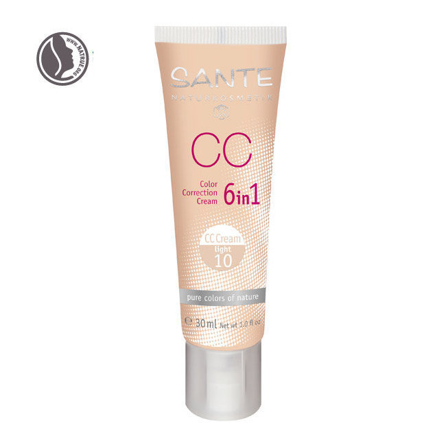 CC Crème bio correctrice 6 en 1 Light n°10 - Tube 30ml