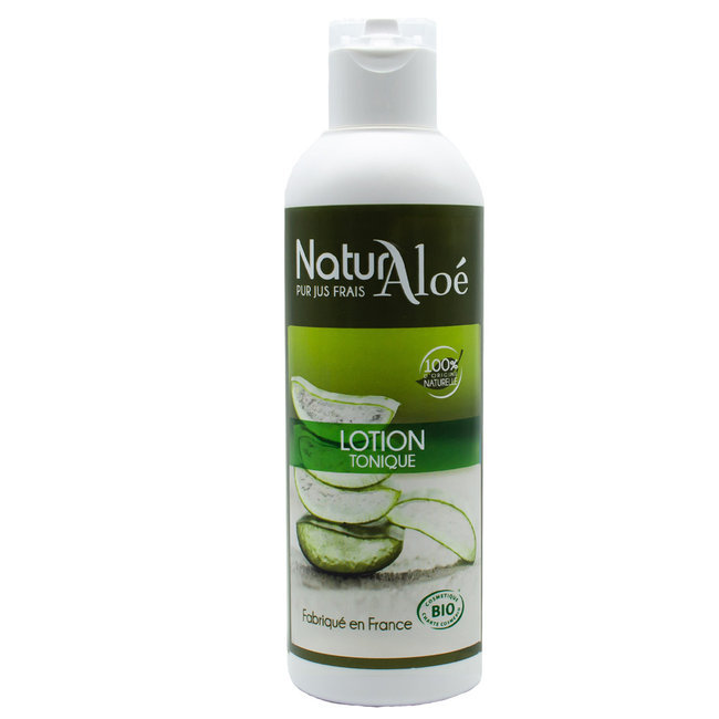 Lotion tonique bio à l'Aloe vera 200ml