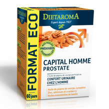 Capital Homme Prostate - Confort urinaire - 120 capsules