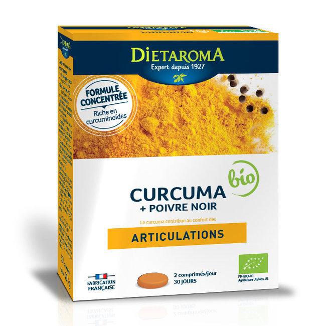 Curcuma 2000 et Poivre noir bio Dietaroma pour