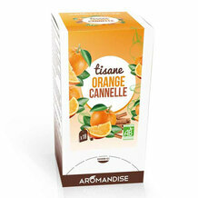 Tisane Orange Cannelle bio 20 sachets