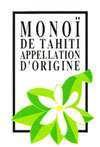 Label Monoi de Tahiti Appellation d'origine - Naturado chez Claire Nature