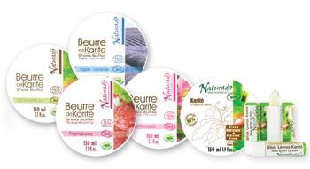 Naturado - Gamme Karité bio chez Claire Nature