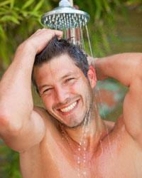 Gel douche et savon pour Homme - Soin bio du corps