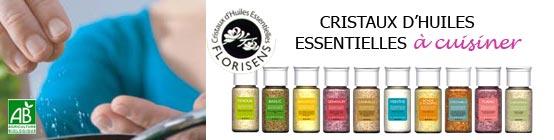 Cristaux d'huiles essentielles de Florisens - Claire Nature