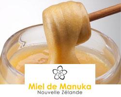Miel de Manuka - Nouvelle Zélande