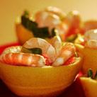 Recette Salade de crevettes aux agrumes - Cristaux d'huiles essentielles bio Florisens